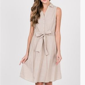 NWT Khaki Dress